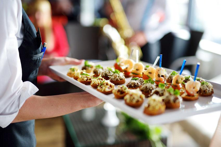 Menu For Wedding Reception Finger Foods